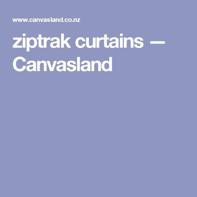 ziptrak curtains — Canvasland