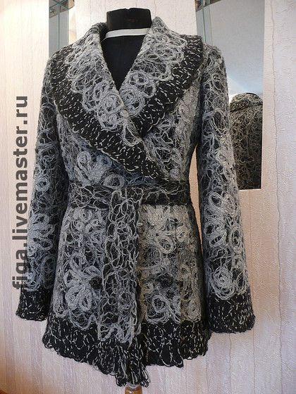 """Верхняя одежда ручной работы. Ярмарка Мастеров - ручная работа. Купить Пальто """"Кружева"""". Handmade."""