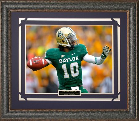 Robert Griffin III Baylor University Photo Framed