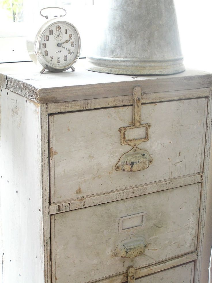 Shabby Chic File Cabinet Google Search White Washed
