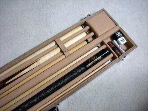 Pool Cue Case Inside Case Jpg Pool Cue Cases Pinterest