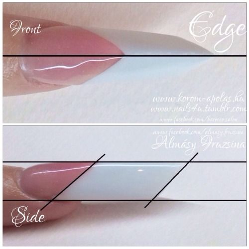 blade acrylic nails | extreme nails