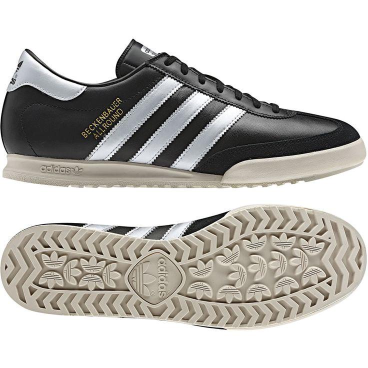 Adidas Beckenbauer Allround - Black / Metallic Gold / Metallic Silver | Shoes | Football Fashion Blog