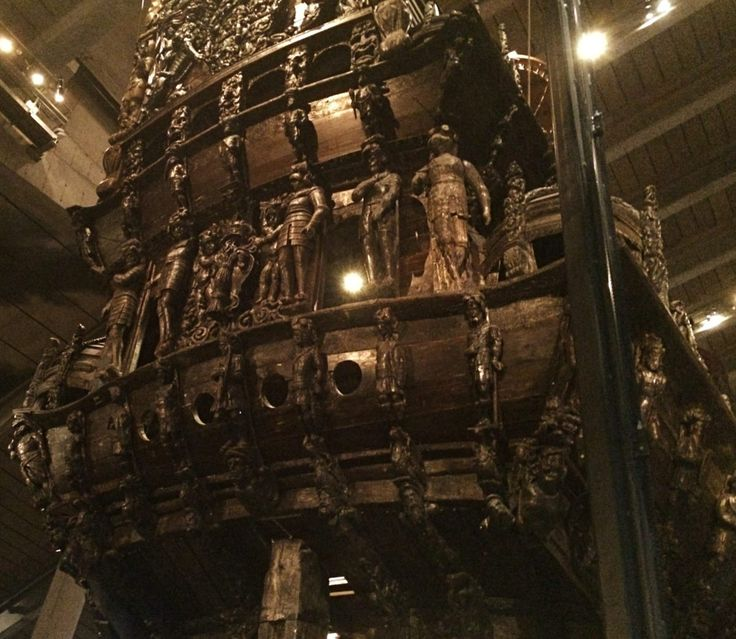 Visit the Swedish Vasa Ship Museum of Stockholm