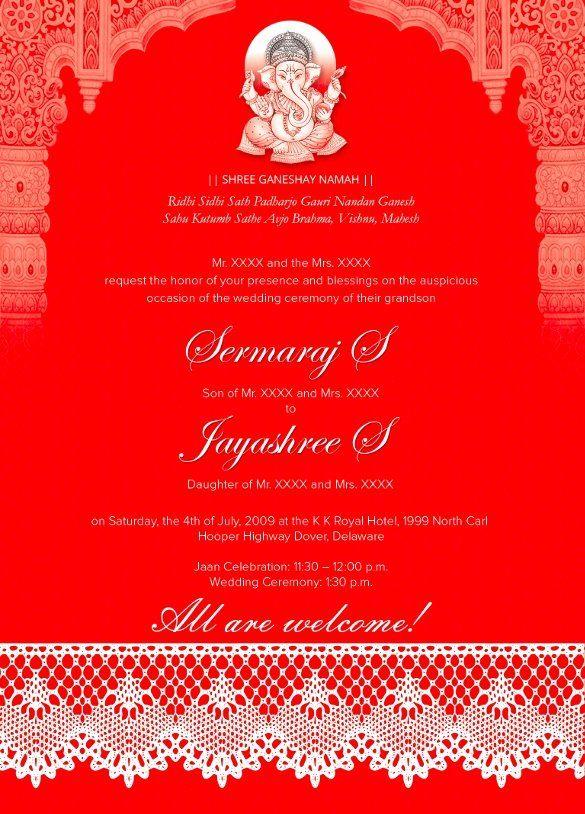Hindu Wedding Invitation Template Best Of 35 Traditional Wedding In Indian Wedding Invitation Cards Wedding Invitation Templates Wedding Invitation Card Design