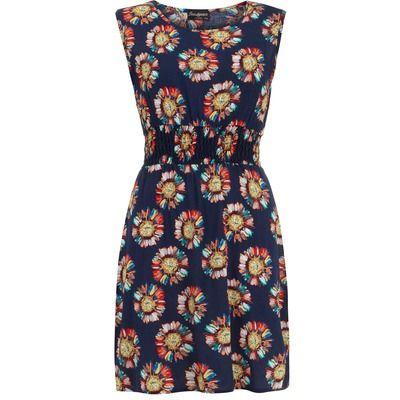Dorothy Perkins Indulgence Navy Tea Dress