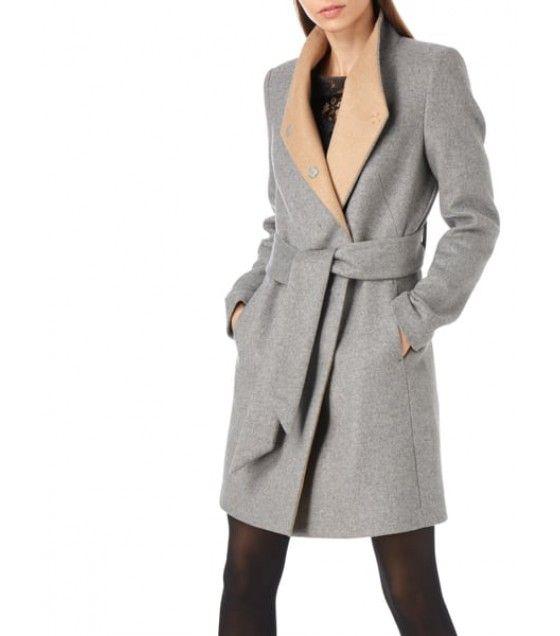 günstig kaufen Modestil heiß-verkaufendes spätestes Damen Bekleidung Joseph Janard Wollmantel mit Stehkragen in ...