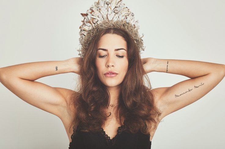 Tattoo placement woman .. Tattoo arm .. Morsecode .. Memento Mori .. Tattoo inspiration .. Minimalistic tattoo woman