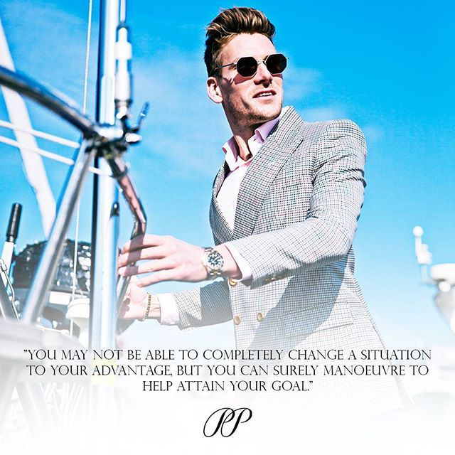 PIETER PETROS || QUOTES || Don't change the situation, change your approach!  #Antwerp1
