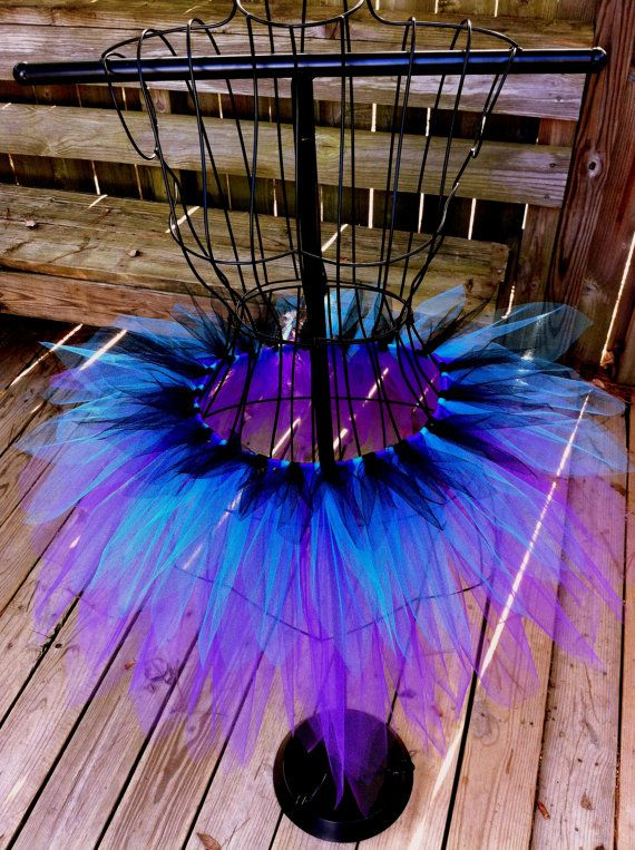 Passion-Fruit Flower Fairy Tutu - Halloween Tutu - Rave Tutu - Available in Infant, Toddlers, Girls, Teenager and Adult Sizes, via Etsy.