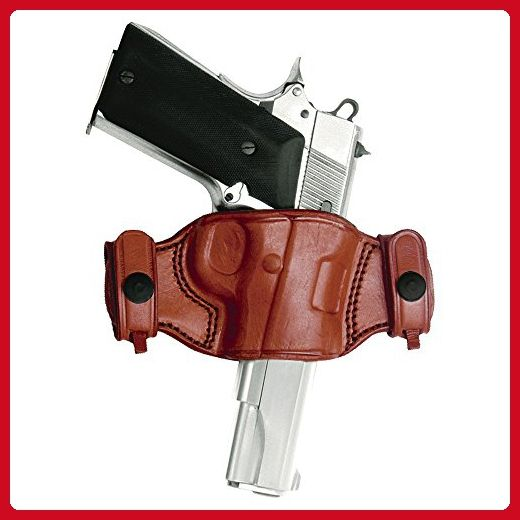 Tagua BH2S-043 Quick Draw Belt Snap Holster, Ruger SP101, Brown, Left Hand - Top handle bags (*Amazon Partner-Link)