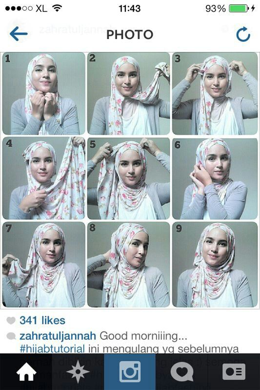 Hijab tutorial 8