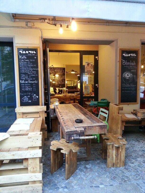 Cafe Gong Gan Korean restaurant Berlin