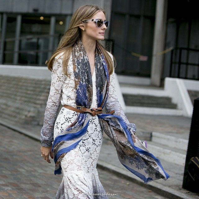 Valentina Frugiuele @fwstreetstyle Olivia Palermo at Peter Pilotto show. Spring summer 2015.