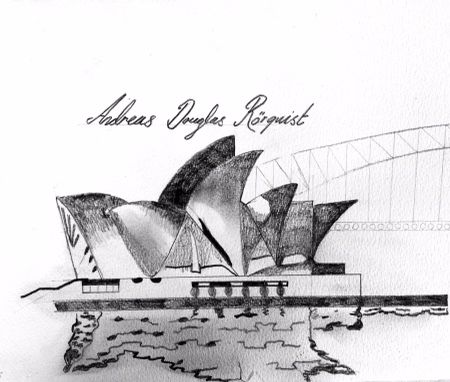 Sidney Opera House in Australia by Andreas Douglas Rörqvist