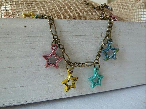 Martinuska / náramok s hviezdičkami