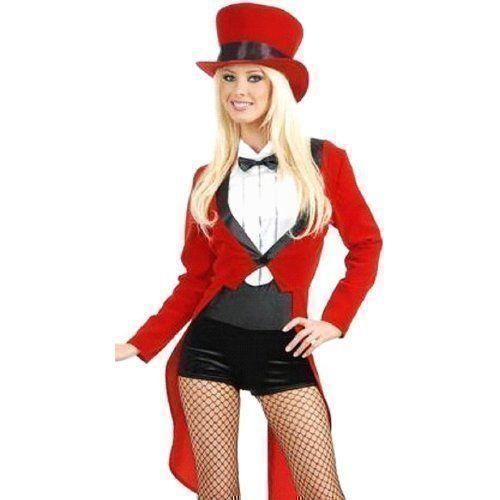 Damen Vintage Zirkusdirektor ca 47€   Kostüm-Idee zu Karneval, Halloween & Fasching