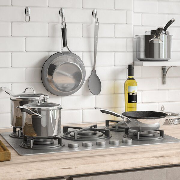 Meyer Select 6 Piece Stainless Steel Induction Non Stick Pots And