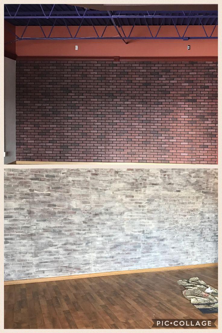 17 best ideas about brick paneling on pinterest faux brick walls faux brick backsplash and - Red brick wall panel ...