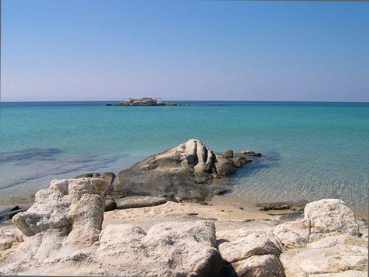 Chalkidiki,Kalogria beach,Sithonia...