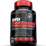 BRI Nutrition Testrone All Natural Supplement With Diindolylmethane Tongkat Ali Tribulus Terrestris Magnesium Sulfate Anhydrous Boron & Zinc  30 Day Supply  60 Capsules