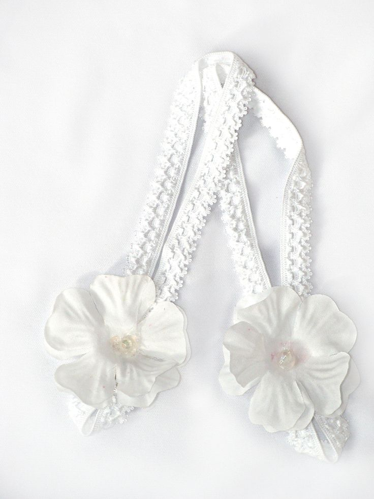 White Flower Barefoot Shoes