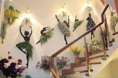 Креативный декор цветочного магазина