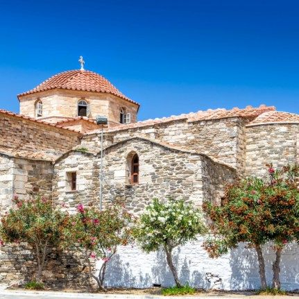 Ekatontapiliano church in Paroikia