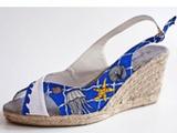 Handbemalte Schuhe, *STARFISHES*, Unikate!!...