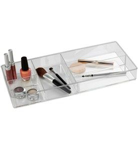 Acrylic Makeup Organizer - Five Section Image