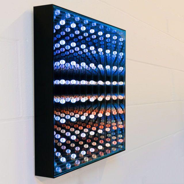 Dominic Harris, October 7 (2010) // Custom LEDs, 4 types of glass, Electronics, Aluminium