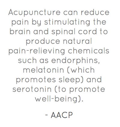 How can acupuncture benefit me?