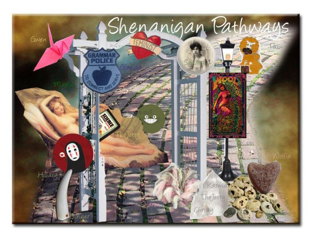 Shenanigan Pathway Reveal #2 by chilirose-creative on Polyvore featuring art