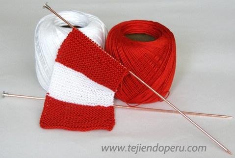 ¡Felices Fiestas Patrias Perú!  Tejiendo Perú