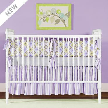 Lavender Love Purple Baby Bedding Baby Nursery Decor