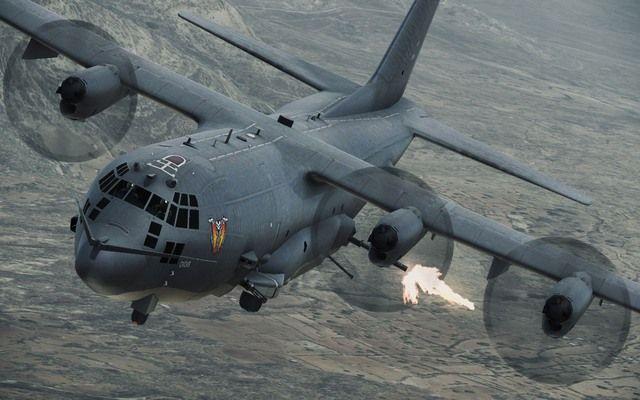 C-130 gunship!
