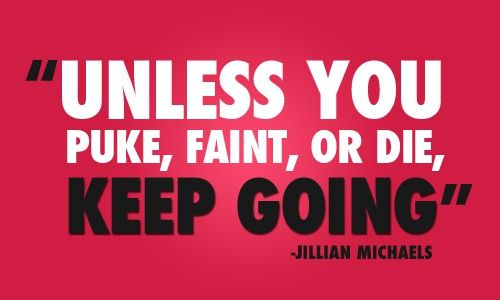We love Jillian at SHAPE and this totally sums up our CrossFit training!