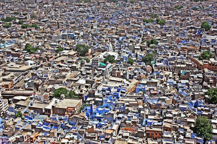 The Blue City, by Abhishek Acharya, Jodhpur, Rajasthan, India, Canon EOS 550D, Canon EF-S 18-55mm f/3.5-5.6 IS II