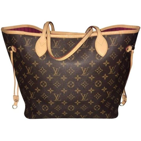 Louis Vuitton 4th July Price Ends 7/4 Lv Neverfull Mm Pivoine Monogram... (1,400 CAD) ❤ liked on Polyvore featuring bags, handbags, tote bags, brown tote bags, brown tote, louis vuitton tote bag, monogram tote and tote bag purse