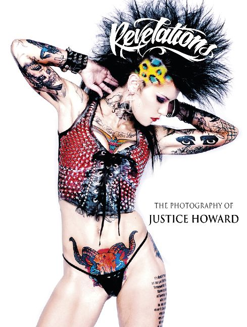Tattoo photography pioneer Justice Howard documents the American tattoo community with her highly iconic images. Gracing the pages of this graphic dossier are fifty-two models. Tattoo artist luminaries, such as Mark Mahoney, Freddy Negrete, Rick Walters make appearances, as well as rock gods Evan Seinfeld and Dave Navarro, Sons of Anarchy actor Rusty Coones and Black Veil Brides. In front of Justice's lens, these figures appear quite capable of taking the world by storm. Visit to find out…