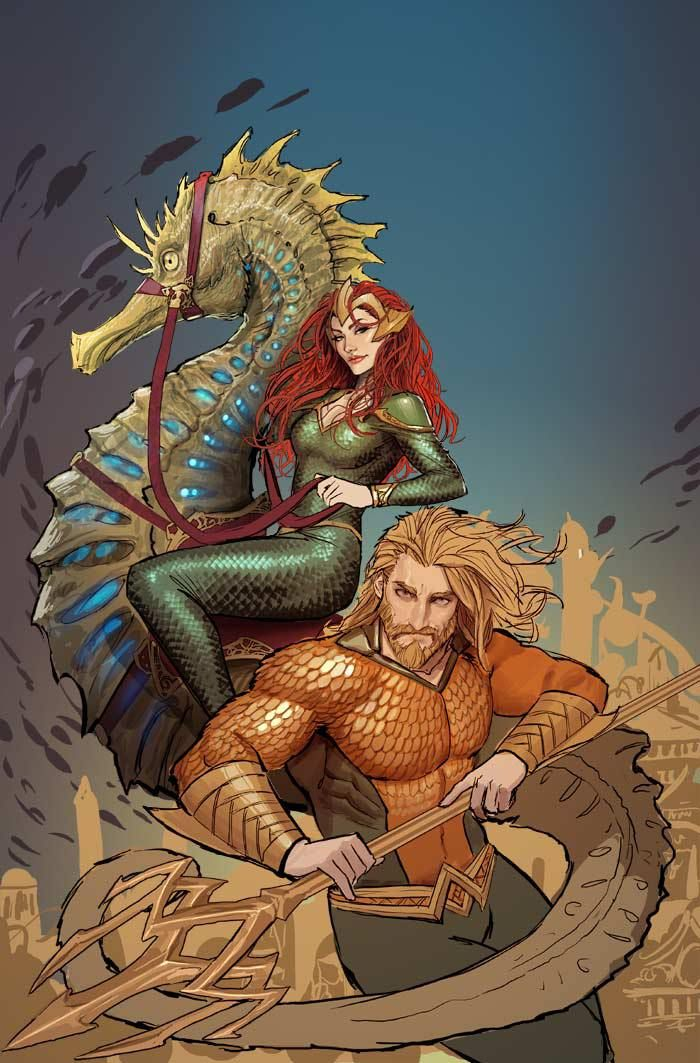 Witchblade Artist Stjepan Sejic Joins DC's Aquaman - The Fanboy SEO