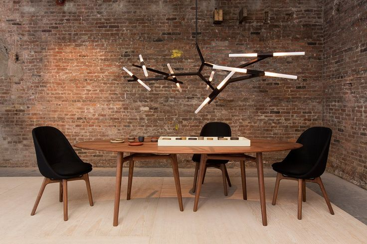Agnes 10 Chandelier by Lindsey Adelman for Roll & Hill Black