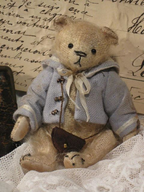 Little Sailor bear....by Old Post Office Bears in England