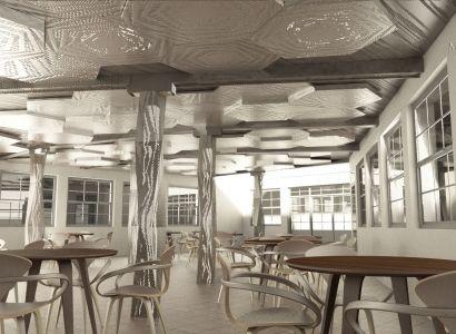 ΨΕΥΔΟΡΟΦΗ  Perforated Aluminum suspended ceilings in unique patterns. Metalaxi Innovative Architectural Products. www.metalaxi.com Life is in the details.