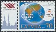 2000.gada Vasaras Olimpiskās spēles bija 27.Vasaras Olimpiskās spēles. Tās notika Austrālijas pilsētā Sidnejā. Latviju pārstāvēja 45 sportisti 13 sporta veidos. Latviešu sportisti izcīnīja visu trīs kalumu medaļas: Igors Vihrovs vingrošanā izcīnīja pirmo zelta medaļu neatkarīgās Latvijas vēsturē, Aigars Fadejevs izcīnīja sudrabu vieglatlētikas 50 km soļojumā un Vsevolods Zeļonijs izcīnīja bronzu džudo.