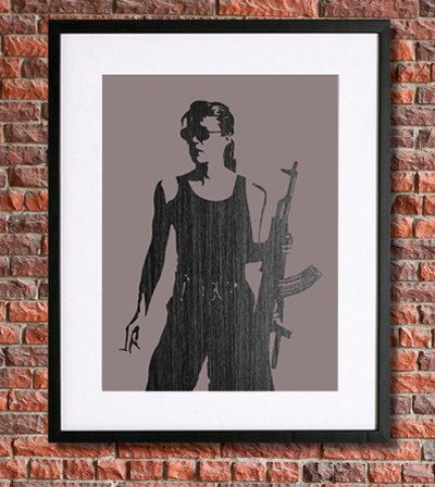 Sarah Connor Poster | Instant Download Printable Art | The Terminator Poster, Terminator 2, T2, schwarzenegger,Judgement Day, Linda Hamilton by pennyPRINTABLE on Etsy https://www.etsy.com/listing/225042886/sarah-connor-poster-instant-download