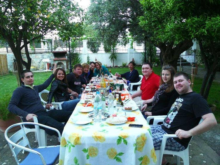 #BBQ with quests at #Salonikioubeach