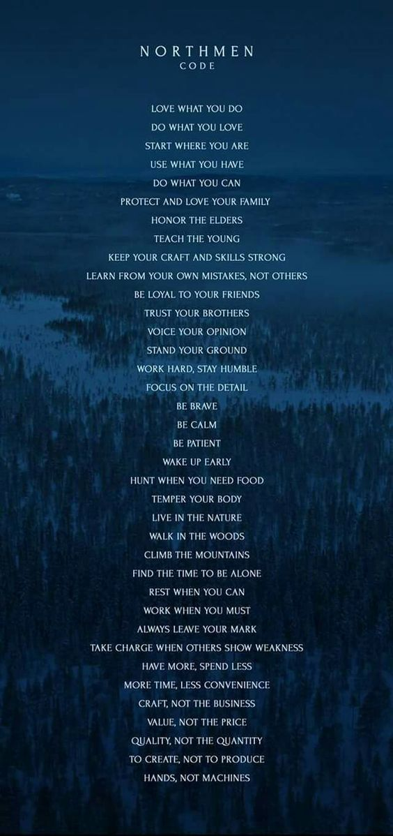 Viking Code Ragnar Quotes Viking Quotes Asatru New Norse Quotes About Love