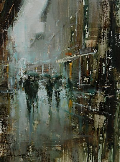 In the Light by Tibor Nagy Oil ~ 16 x 12