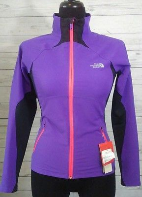 The North Face Women's Active Athletic Fitness Running Jacket Purple Size XS